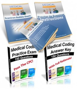 CPC Practice Exam and Study Guide Package