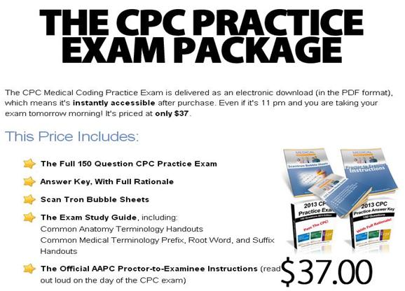 cpc practice package